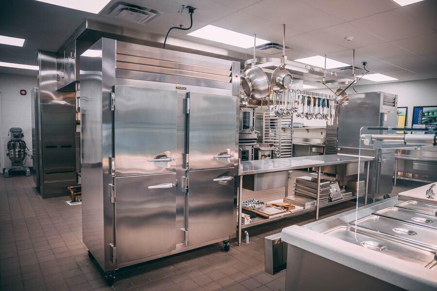 Eureka Elementary School Kitchen
