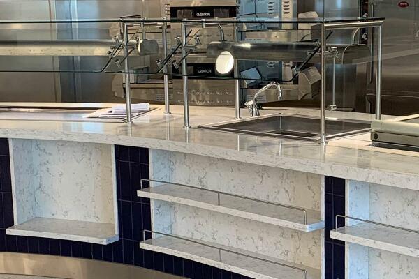 SLU Hospital Kitchen and Counter